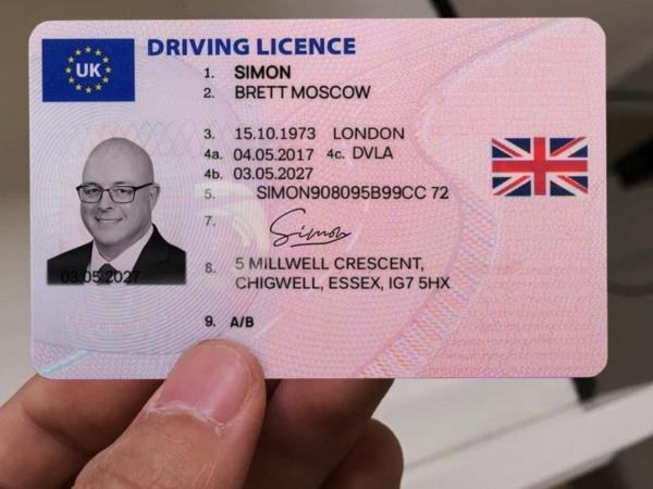 Buy real uk driving license